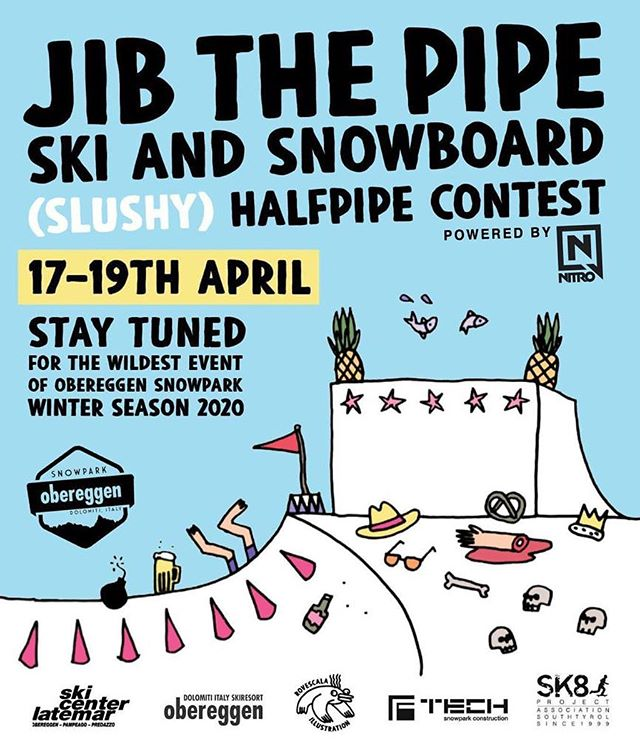 Jib the Pipe Poster 17-19 April